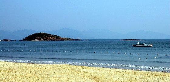 巽寮湾凤池岛三角洲岛1天游